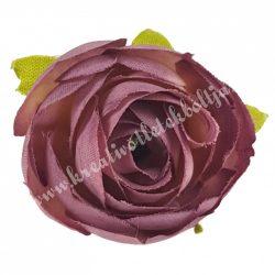 Dekor virágfej, lila, 3 cm