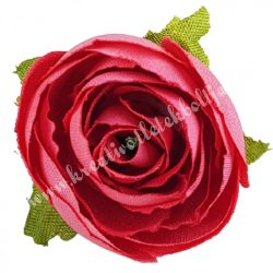 Dekor virágfej, rózsaszín, 3 cm
