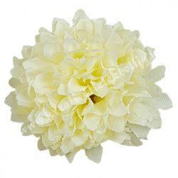 Dekor virágfej, törtfehér, 4,5 cm