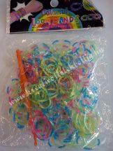 Gumigyűrű, 130x90x14 mm, vegyes, kód: S08-Z3, csomag