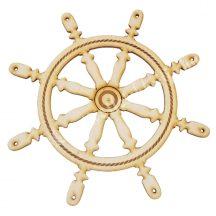 Fafigura, hajókormány (nagy)