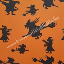 Halloween kartonpapír 3., 29,3x20,6 cm