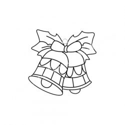 Festhető forma matricafestékhez, harangok