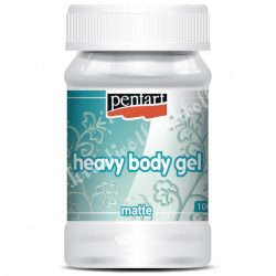Pentart gélpaszta - heavy body gél - matt, 100 ml