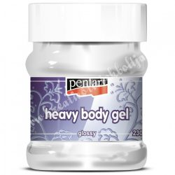 Pentart gélpaszta - heavy body gél - fényes, 230 ml