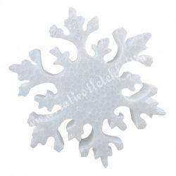 Hungarocell hópehely, 10 cm