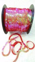 Flitter irizáló piros