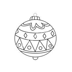 Festhető forma matricafestékhez, karacsonyfa gömb