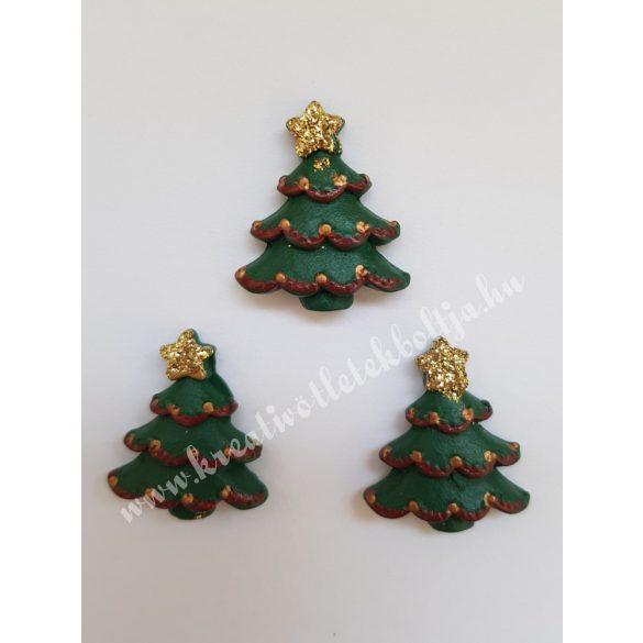 Ragasztható figura, karácsonyfa