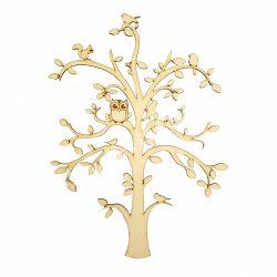 Lombos fa, beszúrós, választható állatfigurákkal
