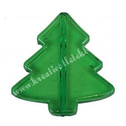 Fűzhető műanyag fenyőfa, 40x40mm, 1 darab