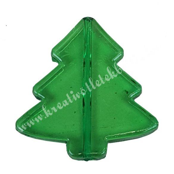Fűzhető műanyag fenyőfa, 40x40mm