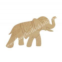 Mdf figura, indiai elefánt