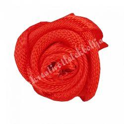 Mini szaténrózsa, piros, 1,7 cm