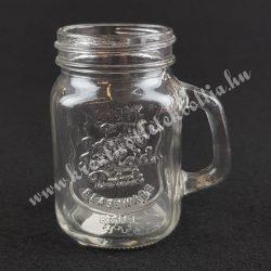 Mini üvegkorsó, 7x8 cm