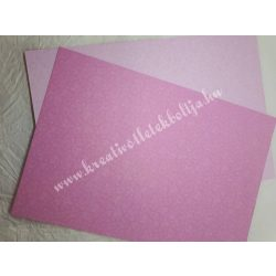 Baba mintás karton rózsaszín, kétoldalas