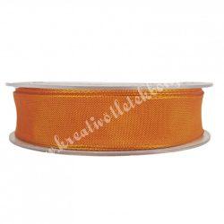 Textil szalag, narancssárga, 2,5 cm