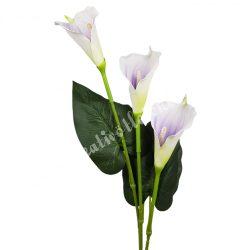 Kála csokor, lila középpel, 87 cm