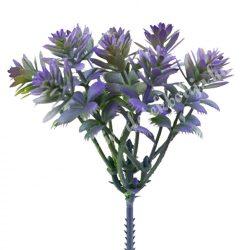 Mini pozsgás csokor, lila, 8 cm