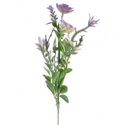 Díszítő ág, lila, kb. 54 cm