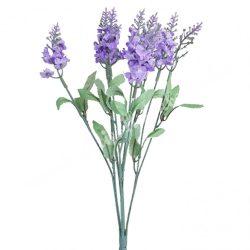 Levendula csokor, világos lila, kb. 32 cm