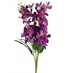 Virágos csokor, lila, 45 cm