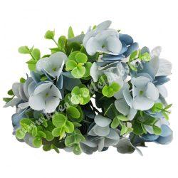 Hortenzia, bukszus köteg, kék, 24 cm, 10 szál/csokor