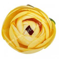 Boglárka virágfej, sárga, 5 cm