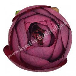 Boglárka virágfej, burgundi, 5 cm