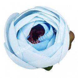 Boglárka virágfej, világoskék, 5 cm