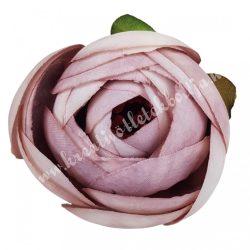 Boglárka virágfej, antik mályva, 5 cm