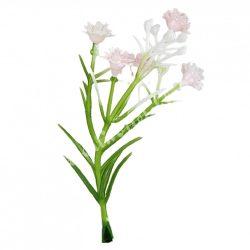 Mini rezgő 5 virággal, halvány rózsaszín, 4x9 cm