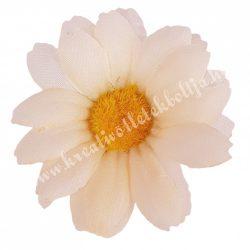 Margaréta virágfej, barack, 6 cm