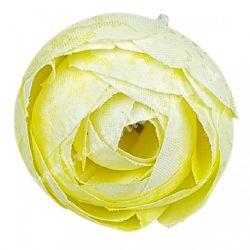 Boglárka virágfej, vanilia, 3 cm