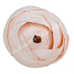 Boglárka virágfej, púder rózsaszín, 3 cm