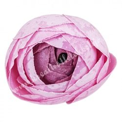 Boglárka virágfej, mályva rózsaszín, 3 cm