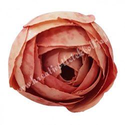 Boglárka virágfej, vintage barack, 3 cm