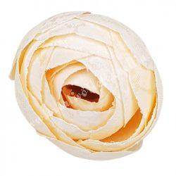 Boglárka virágfej, pezsgő, 3 cm