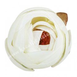 Boglárka virágfej, krém, 5 cm