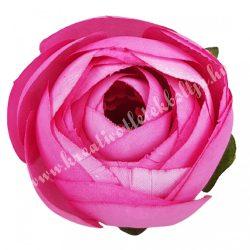 Boglárka virágfej, sötét rózsaszín, 5 cm