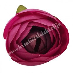 Boglárka virágfej, mályva, 5 cm