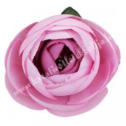 Boglárka virágfej, rózsaszín, 5 cm