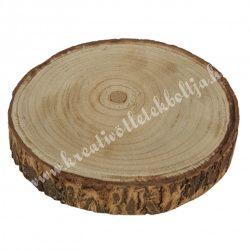 Fa szelet kéreggel, 18-23 cm