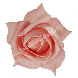 Polifoam rózsa, 9x6 cm, 13., Sötét rózsaszín