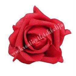 Polifoam rózsa, 9x6 cm, 1., Piros