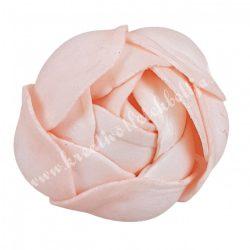 Polifoam boglárka 2., halvány rózsaszín, 5 cm