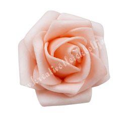 Polifoam rózsa, 3,5x2,5 cm, 9., puncs