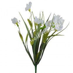 Hóvirág csokor, fehér, 36 cm, 8 ág/csokor
