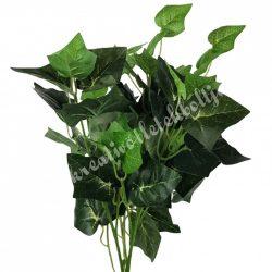 Borostyán csokor, zöld, 44 cm