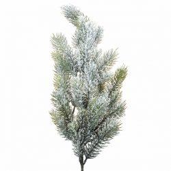 Karácsonyi havas dekor ág, 27 ággal, 66 cm